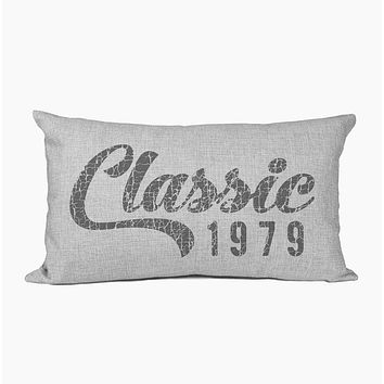 Personalized Pillow | Classic Year