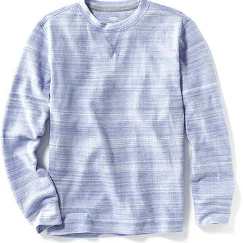 Old Navy Drop Shoulder Waffle Knit Tee