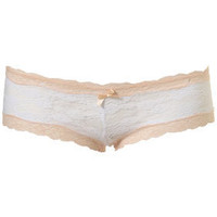 Ivory Full Lace Ladypant - Lingerie & Sleepwear  - Apparel