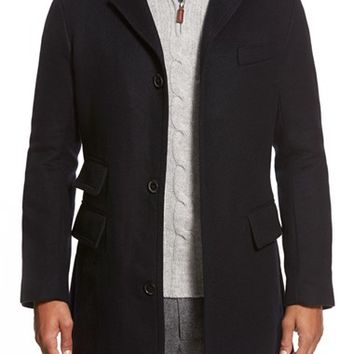 Men's Billy Reid 'Astor' Three-Button Car Coat,