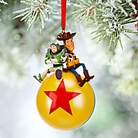 Buzz Lightyear and Woody Sketchbook Ornament