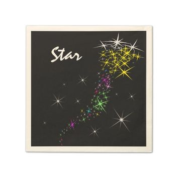 Christmas Star Napkin