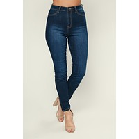What's The 411 High-Rise Jeans (Dark)