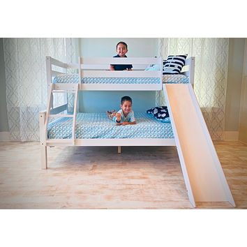 Reese Twin over Full Bunk Bed with Slide