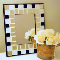 Mosaic Mirror, Wall Art, Mirror Tiles