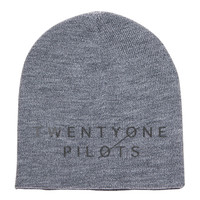 Twenty One Pilots Embroidered Knit Beanie