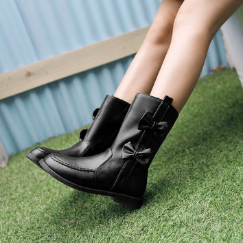 Bow Boots Women Shoes Fall|Winter 9518