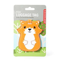 Kikkerland Fox Luggage Tag