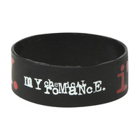 My Chemical Romance Im Not Okay Rubber Bracelet