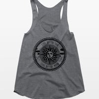 Live by the Sun Love by the Moon Tank Top