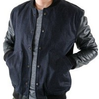 Mr. *Varsity (Raw Indigo Denim)
