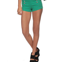 Denim Matelot Hot Short | FOREVER21 - 2062098306