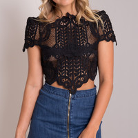 Emmy Fairytale Crochet Top