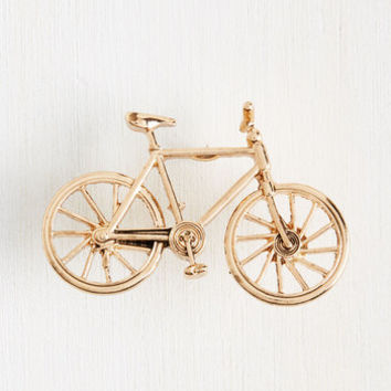 A Wheel Catch Pin | Mod Retro Vintage Pins | ModCloth.com