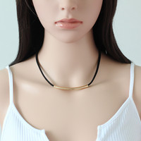 New Arrival Shiny Stylish Gift Jewelry Korean Vintage Simple Design Chain Necklace [9377827911]
