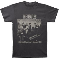 Beatles Men's  Cavern Club T-shirt Grey