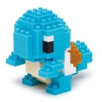 nanoblocks Nbpm004 Nb - Squirtle - Pokemon Building Kit
