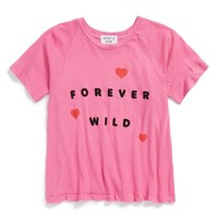 Girl's Wildfox 'Forever Wild - Perfect' Graphic Tee,