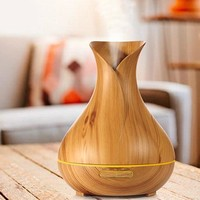 Vase Wood Grain Humidifier