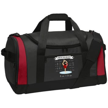 DCCKJY1 Figure Skating Physics Travel Sports Duffel