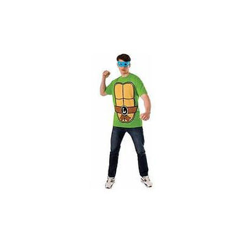 Rubie's Teenage Mutant Ninja Turtles Leonardo T-Shirt  Mask Costume Kit, L (36-