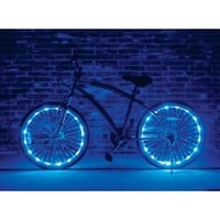 Wheel Brightz Lightweight LED Bicycle Safety Light Accessory Blue - Walmart.com