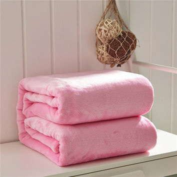 Super Soft Microplush Throw Blankets- Several Colors to Choose From