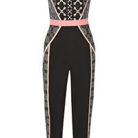 Peter Pilotto - Atom embroidered crepe jumpsuit