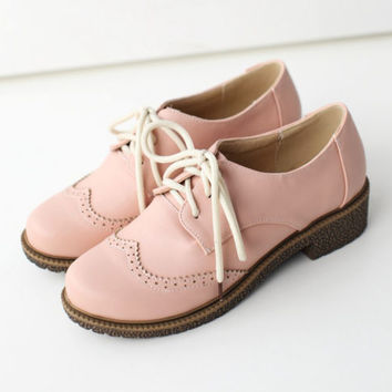 Hot Womens Lolita Mary Janes Buckle Strap From Qianlihorse On