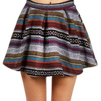 Multi Color Tribal Skirt