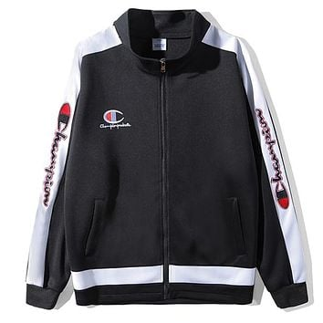 Champion Woman Men Fashion Cardigan Jacket Coat