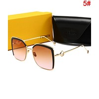 FENDI Newest Popular Ladies Cute Summer Sun Shades Eyeglasses Glasses Sunglasses 5#