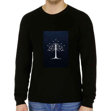 White Tree Gondor leather - Sweater for Man and Woman, S / M / L / XL / 2XL **