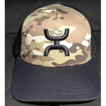 Hooey Chris Kyle CK017 Camo Hat with Punisher logo