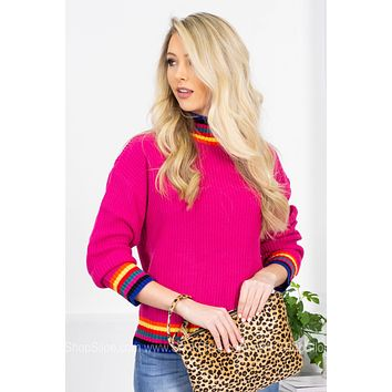 Jackie Rad Knitted Sweater