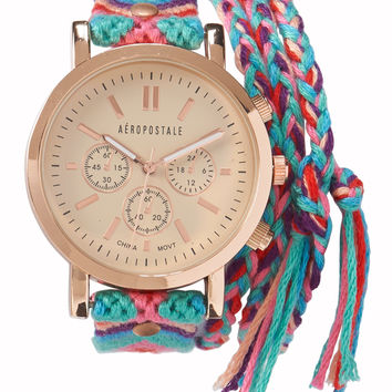 Southwest Braided Wrap Watch