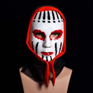 Halloween Ghost Mask Scream Costume Party Mask Creepy Scary Ghosts Masks Faceless Vampire