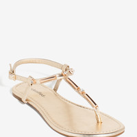 Lucie Heavy Metal Bling Sandal