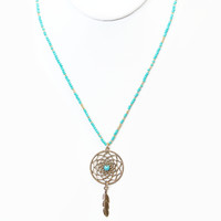 Sweet Dreams Necklace - AQUA