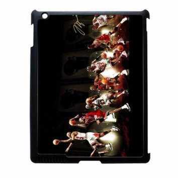 DCKL9 Michael Jordan NBA Chicago Bulls Dunk iPad 4 Case