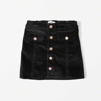 girls corduroy a-line skirt | girls clearance | Abercrombie.com