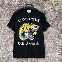 Gucci Tiger Print T-Shirt