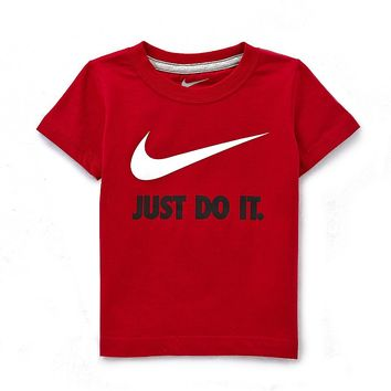 Nike Little Boys 2T-7 Just Do It Short-Sleeve Tee | Dillards