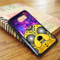 Sugar Skull Adventure Time Jake Samsung Galaxy S6 Edge Case