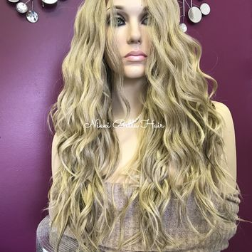 Blond Balayage' lace front wig | DREAM