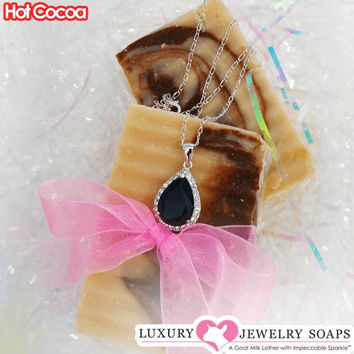 Hot Cocoa Luxury Jewelry Soaps