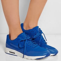 Nike | Air Max 1 Ultra Moire faux suede and rubber sneakers | NET-A-PORTER.COM