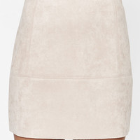 Kendall & Kylie Scuba Suede Mini Skirt at PacSun.com