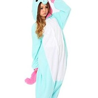 US TOP Unicorn Adult Animal Kigurumi Cosplay Costume Pajamas Onesuits