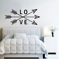 Wall Decals Love Vinyl Arrows Hipster Aztec Arrow Fashion Bohemian Home Decor Wall Vinyl Decal Stickers Bedroom Decor Art Murals